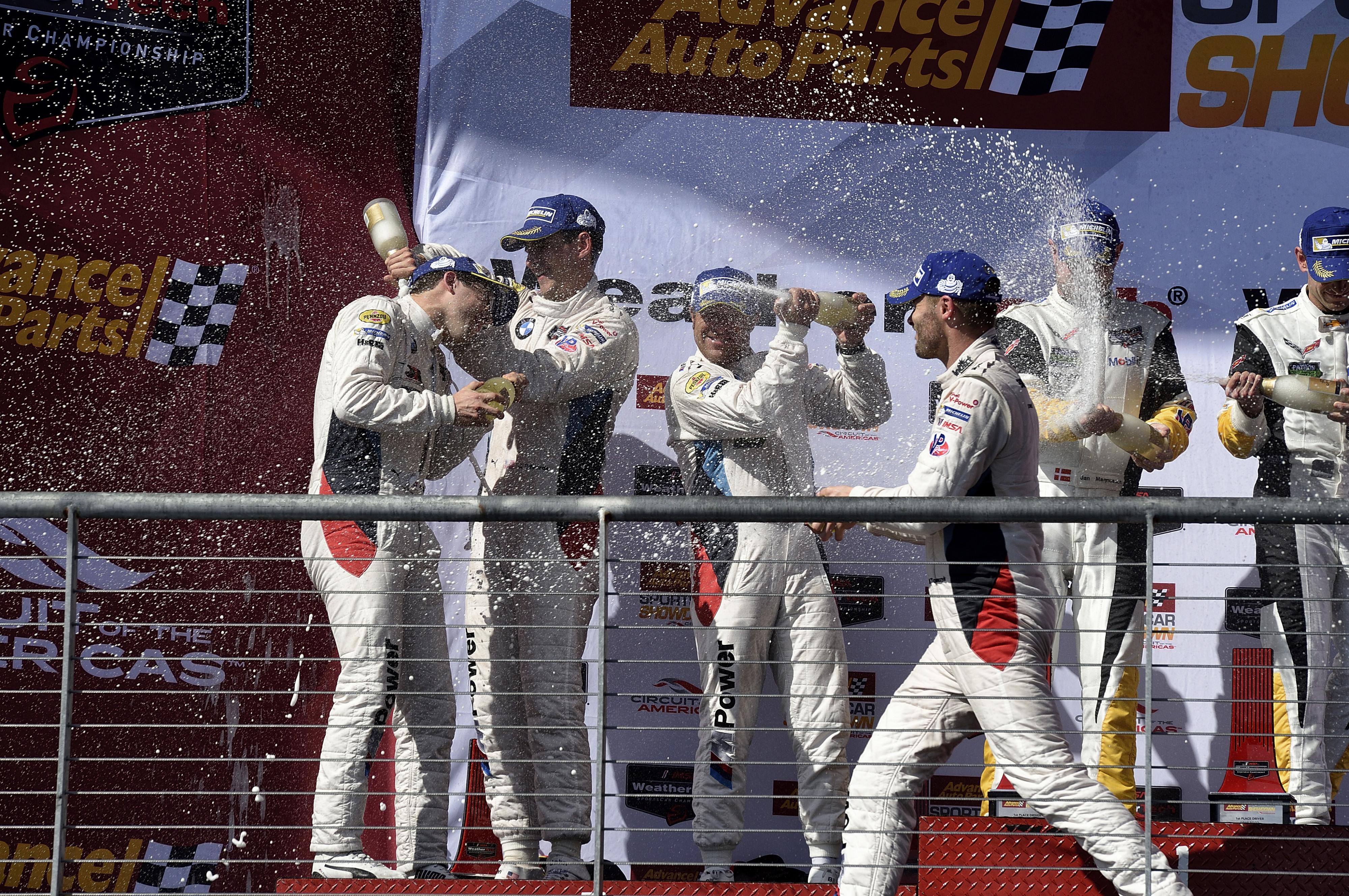 Bmw Team Rll Finish 2nd And 3rd At Circuit Of The Americas John