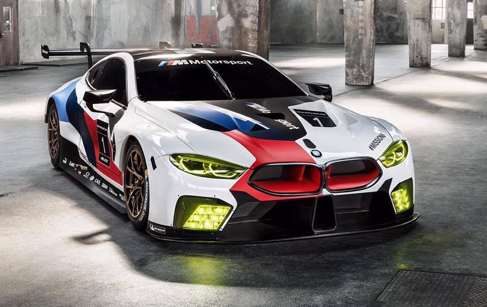 BMW M8 - for the 2018 Racing Season